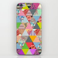 poem iPhone & iPod Skins featuring Lost in ▲ by Bianca Green