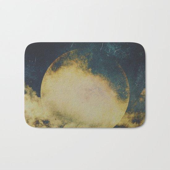Golden moon Bath Mat