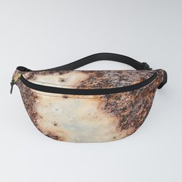 Cool brown rusty metal texture Fanny Pack