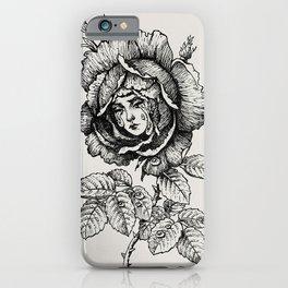 Sad Rose iPhone Case