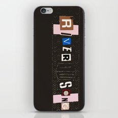 River Song iPhone & iPod Skin