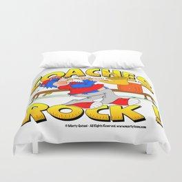 Coaches Rock Duvet Cover