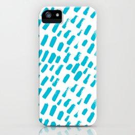 Dashing Darling - Aqua iPhone Case