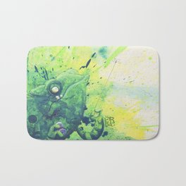 anti agression therapy for chameleons Bath Mat