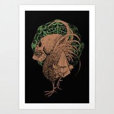 PYRAMID II Art Print