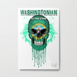 To The Core Collection: Washington Metal Print