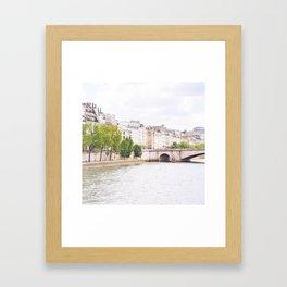 Quai de Paris Framed Art Print