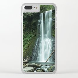 Ecola Falls in Oregon's Columbia River Gorge Clear iPhone Case