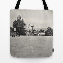 The equilibrist Tote Bag