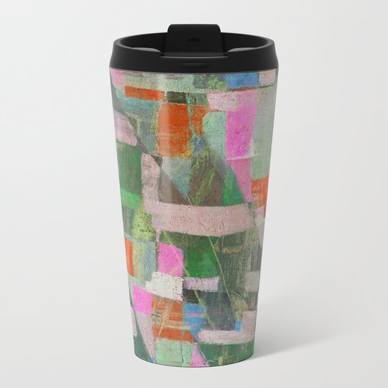 Una Mattina al Porticciolo Metal Travel Mug