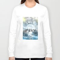 wolves Long Sleeve T-shirts featuring Wolves by haroulita