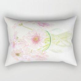 Pink Gerberas In A Vase {Light Textured Version} Rectangular Pillow