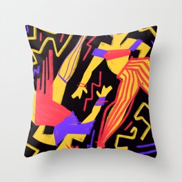 Dance! Throw Pillow