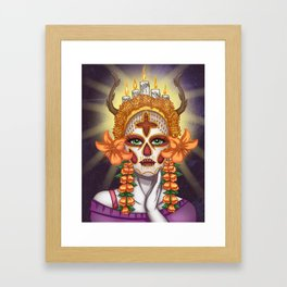La Catrina  Framed Art Print