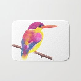 Rufous-backed Kingfisher Bath Mat
