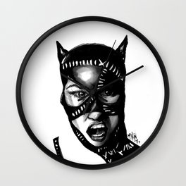 CATWOMAN Wall Clock