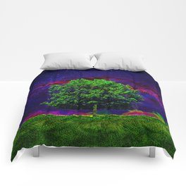 Warped Nature Comforters