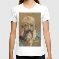 monet T-shirts featuring 50 Artists: Claude Monet by Chad Beroth