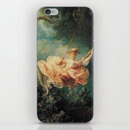 Jean Honore Fragonard The Swing iPhone Skin
