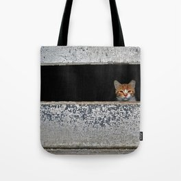 Mr. Holley's Cat Tote Bag