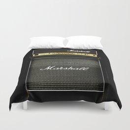 Gray amp amplifier Duvet Cover