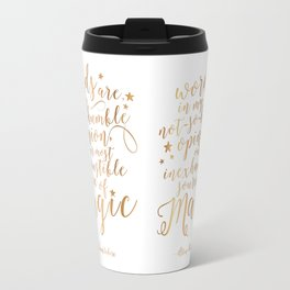 Dumbledore's Magic Words Travel Mug