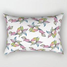 Petal Power - Rainbow Rectangular Pillow