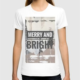 Snowfall - merry and bright T-shirt