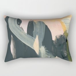abstract painting IV Rectangular Pillow