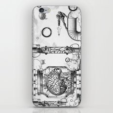 Mother Brain Super Metroid Engraving Scene iPhone & iPod Skin