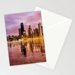 Chicago Reflections Stationery Cards