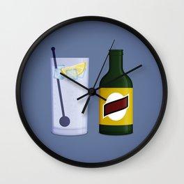 Gin & Tonic Wall Clock