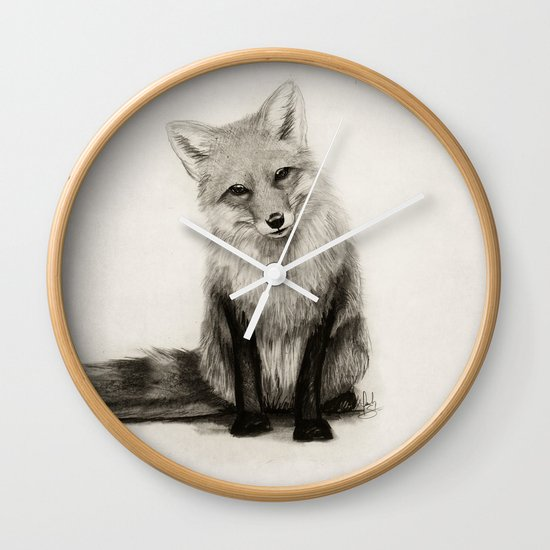Fox Say What?! Wall Clock