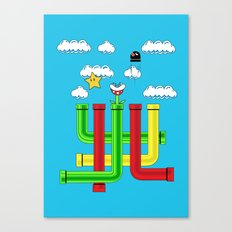 Pipe Dreams Canvas Print