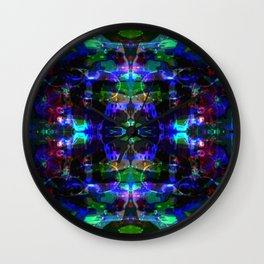 Luminous Matter Wall Clock