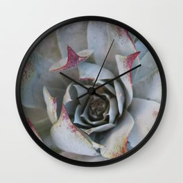 Tinged tips Wall Clock