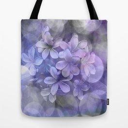 Watercolor Mixed Media Pulmaria Bouquet 1 Tote Bag