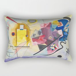 Wassily Kandinsky - Yellow Red Blue Rectangular Pillow