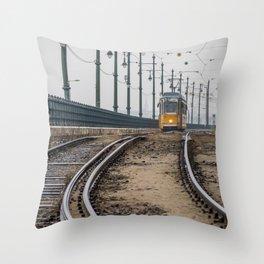 Commute. Throw Pillow