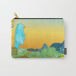 """The Journey Begins (from the book, """"You, the Magician"""") Carry-All Pouch"""