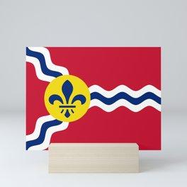 Flag of St. Louis, Missouri Mini Art Print