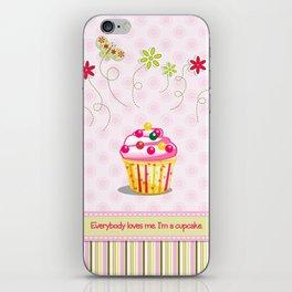 Cupcake Love iPhone Skin
