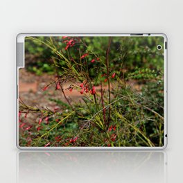 Spring garden red little flowers Laptop & iPad Skin