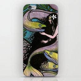 Mermaid and Seven Eels iPhone Skin
