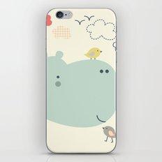 Hippy Hippo iPhone & iPod Skin