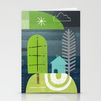 norway Stationery Cards featuring Norway by Jessie Ford