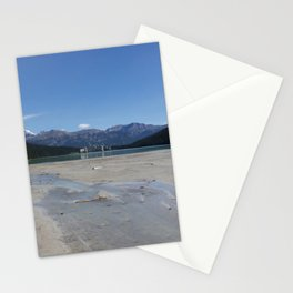 Looking out over Lake Louise Stationery Cards