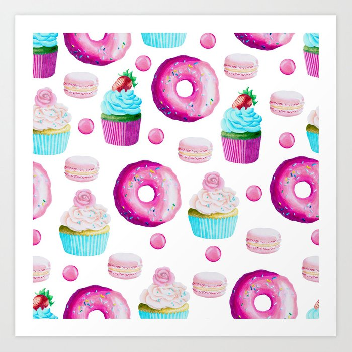 Fun Sweets Art Print