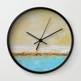 Lemon Sky Wall Clock