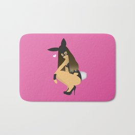 Dangerous Woman Ariana - Pink Bath Mat